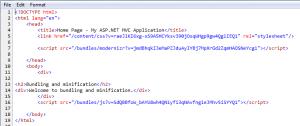 Html source without debug
