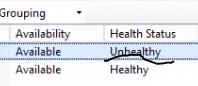 Unhealthy server in web farm