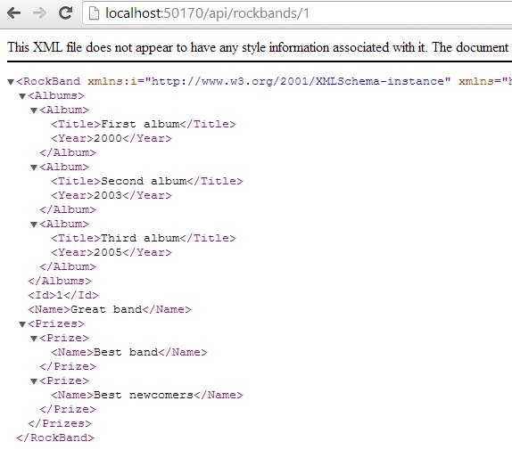 Get by id XML
