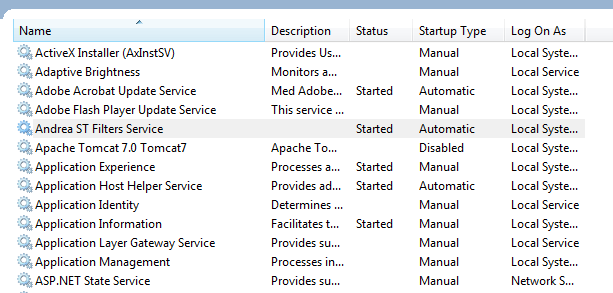 Finding all Windows Services using WMI in C#  NET