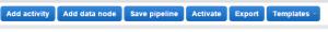 Create pipeline UI