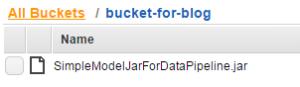 JAR file in S3
