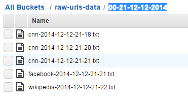 Specific data points in storage files in Amazon S3