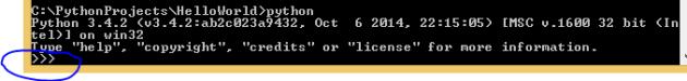 Python command line