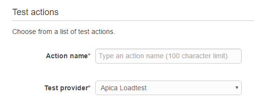 Apica Loadtest in Code Pipeline