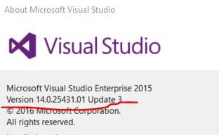 check-update-version-of-visual-studio