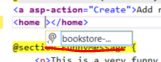 Adding custom atrributes to a custom tag in .NET Core MVC project