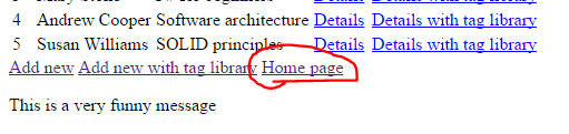 Home custom tag properly rendered as link in .NET Core MVC application