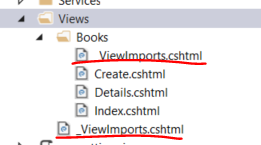 Multiple view imports file in .NET Core MVC application
